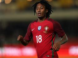 Gelson Martins con la camiseta de la selección portuguesa. (Foto: Getty)