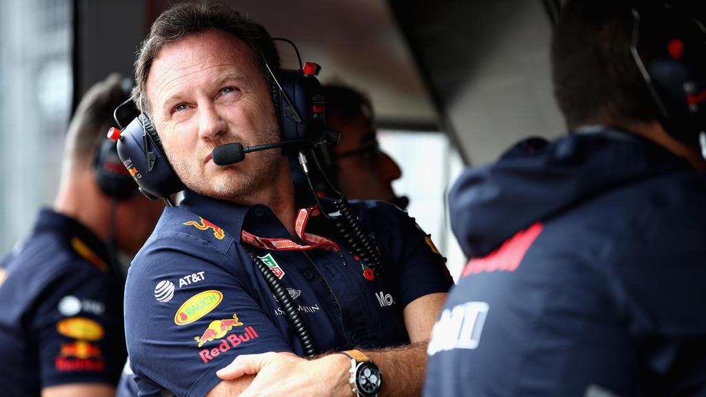 Christian Horner rechnet 2019 mit einem starken Sebastian Vettel