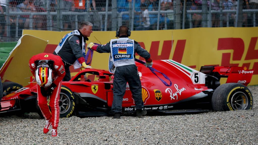 Sebastian Vettel hatte in den letzten Saisons der Formel 1 viel Pech