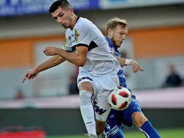 Adrian Grbić (l.) verlässt Altach in Richtung Ligue 2