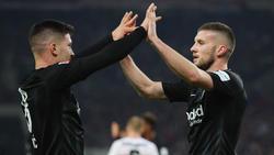 Luka Jovic und Ante Rebic könnten die Eintracht im Sommer verlassen