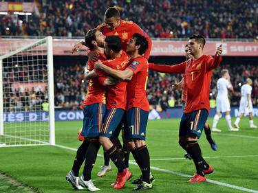 España es primera de grupo con 6 puntos.