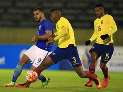 Ecuador sólo consiguió la igualada gracias a dos penaltis. (Foto: Imago)