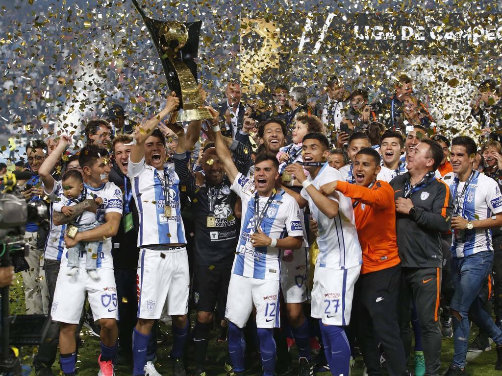Pachuca celebra el título entre una enorme algarabía. (Foto: Imago)