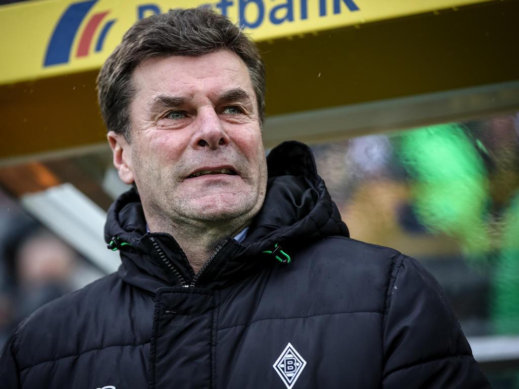 Gladbach-Trainer Dieter Hecking sah einen klaren Elfmeter