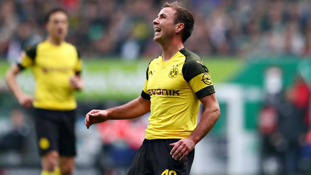 Mario Götze spielt seit 2016 wieder für den BVB