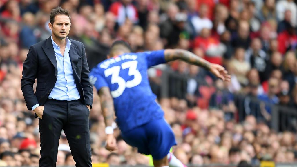 Frank Lampard stand am Wochenende erstmals für Chelsea in einem Pflichtspiel an der Seitenlinie