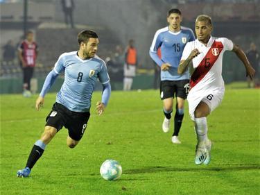Uruguay supo convertir su acercamiento en diana.
