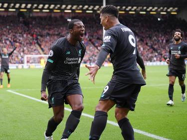 Wijnaldum marcó el gol de una nueva victoria del Liverpool.