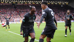 Georginio Wijnaldum (l.) schoss Liverpool zum Auswärtssieg