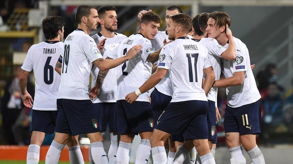 Italien schießt Armenien ab