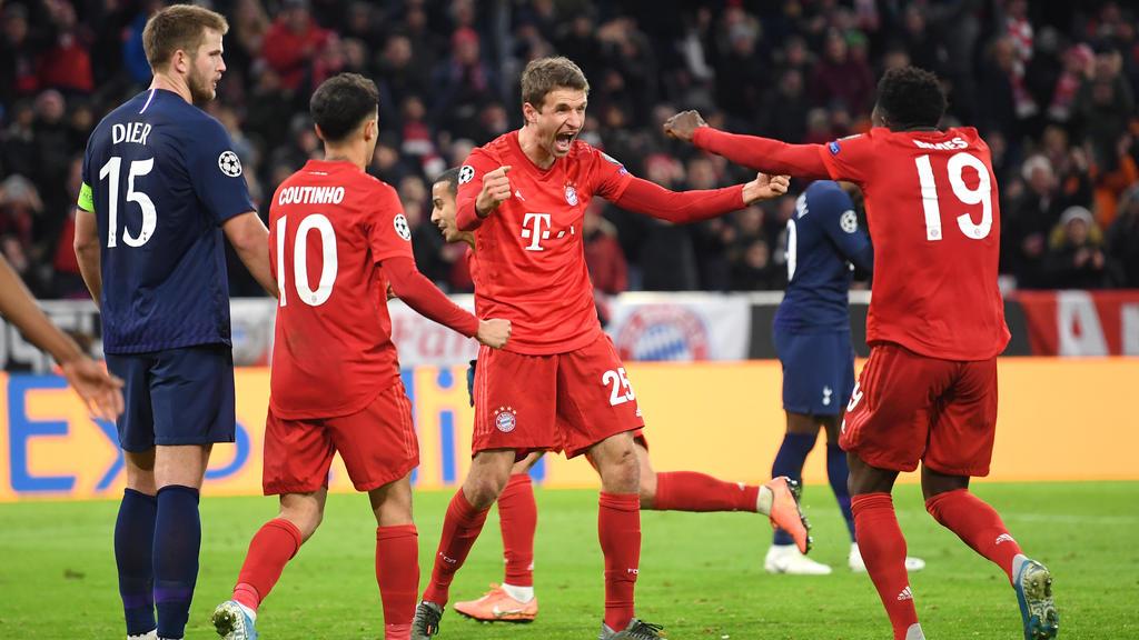 Thomas Müller traf nach seiner Einwechslung für die Bayern