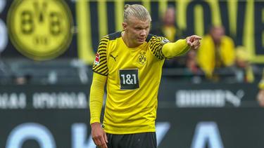 Erling Haaland musste für den BVB mal wieder durchspielen