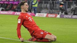 Bejubelte sein Tor gegen den FC Schalke 04 ausgiebig: Leon Goretzka vom FC Bayern