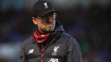 Muss mit dem FC Liverpool im FA Cup nachsitzen: Coach Jürgen Klopp
