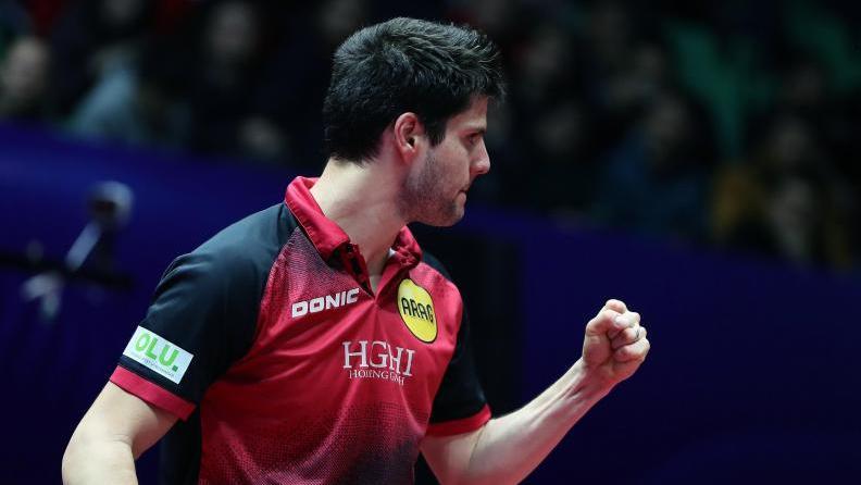 Ist bei den German Open eine Runde weiter:Dimitrij Ovtcharov