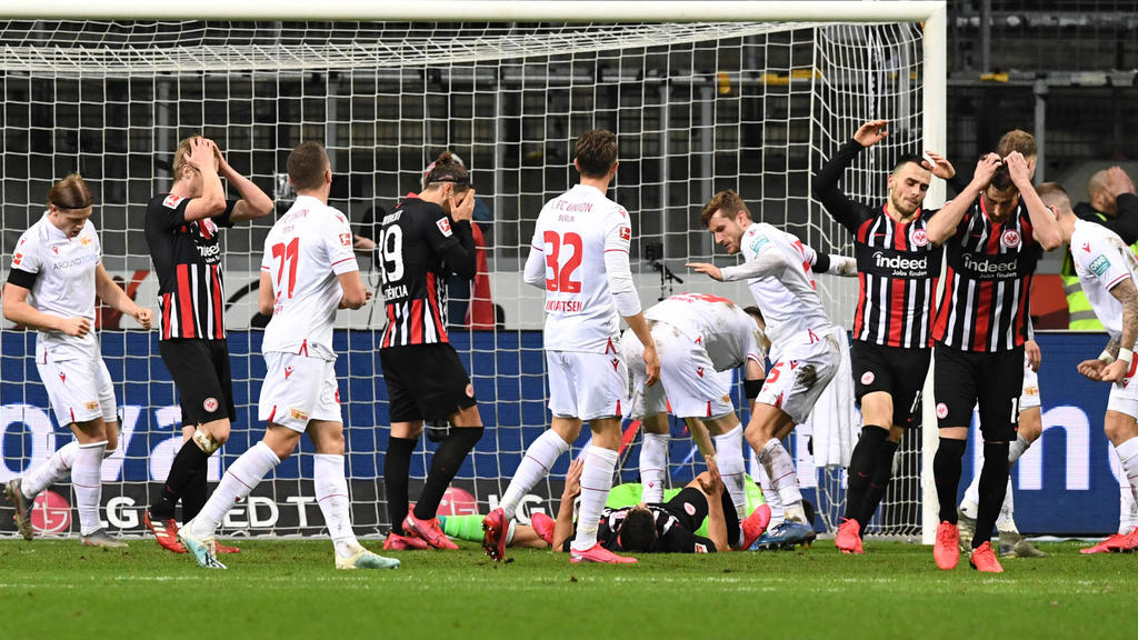 Eintracht Frankfurt ist in der aktuellen Tabelle nur noch Elfter