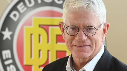 Franz Reindl ist der Präsident des deutschen Eishockey-Bundes (DEB
