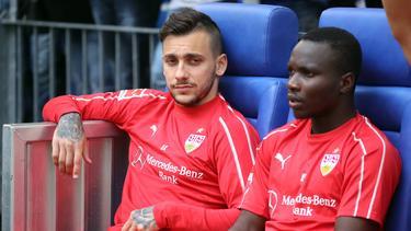 Kehren Anastasios Donis (l.) und Chadrac Akolo zum VfB Stuttgart zurück?