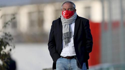 Befürworter des Medizinballs im Training: Felix Magath