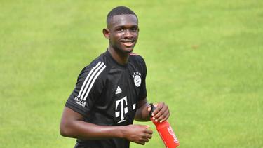 Steht vor seinem Debüt im Trikot des FC Bayern: Tanguy Nianzou