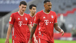 Positiver Corona-Test bei Benjamin Pavard (l.) vom FC Bayern