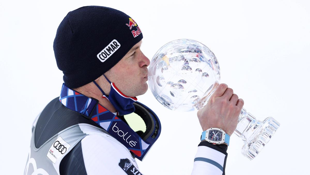 Alexis Pinturault gewinnt den Gesamtweltcup der alpinen Skirennfahrer