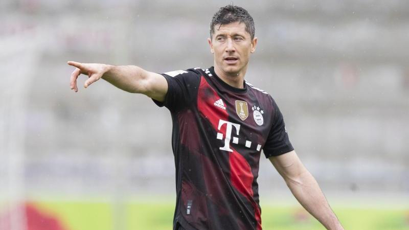 Robert Lewandowski vom FC Bayern hat Geschichte geschrieben
