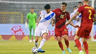 Belgien und Griechenland trennten sich unentschieden