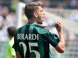 Domenico Berardi würde am liebsten immer gegen Milan spielen