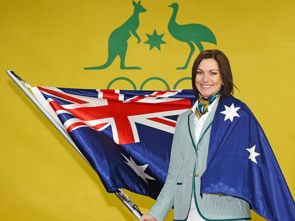 Rad-Sportlerin Meares Australiens Fahnenträgerin in Rio
