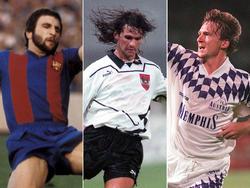 Krankl, Artner und Ogris sind nur drei jener Österreicher, die in Spanien spielten. © imago/T. Zimmermann (l.), GEPA pictures (m., r.)