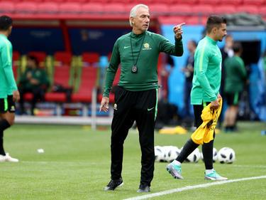 Australiens Coach Bert van Marwijk ist auf sein eigenen Team fokussiert