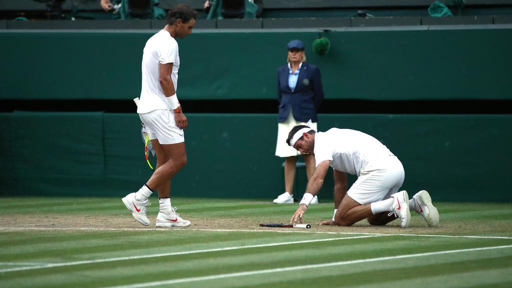 Rafael Nadal (l.) zeigte sich einmal mehr als großer Gewinner
