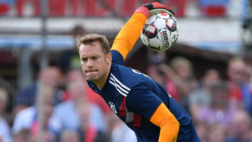 Zurück im Bayern-Tor: Manuel Neuer