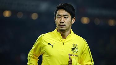Shinji Kagawa spielt für den BVB II in der Regionalliga West