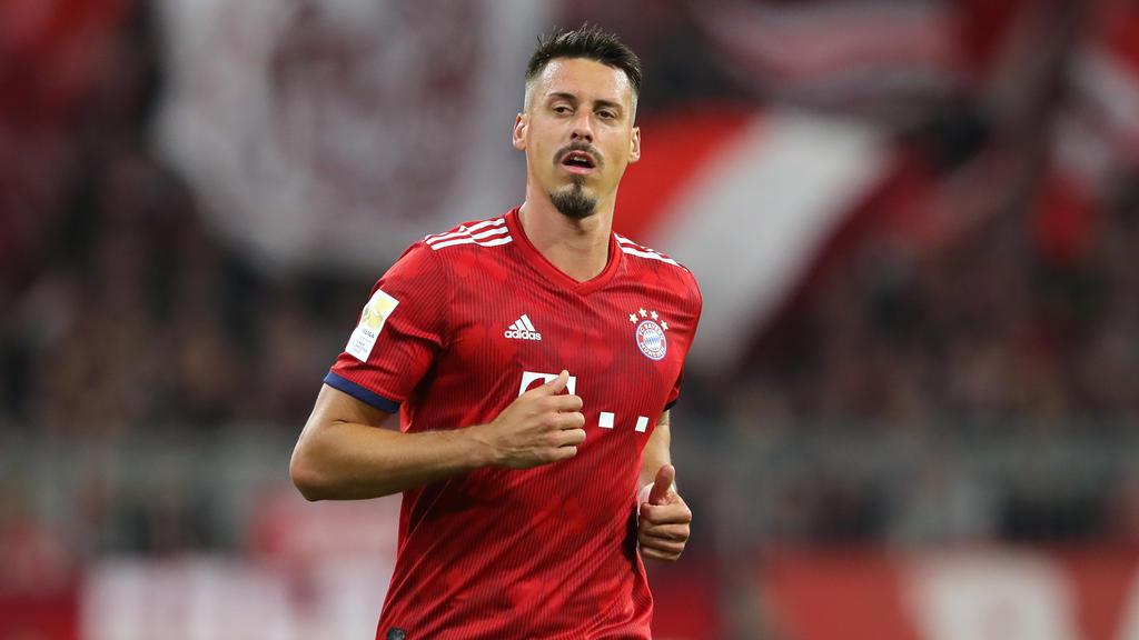 Sandro Wagner kommt bei den Bayern nur sporadisch zum Einsatz