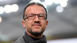Eitnracht-Sportvorstand Fredi Bobic ist mit dem 1:1 gegen Mönchengladbach zufrieden