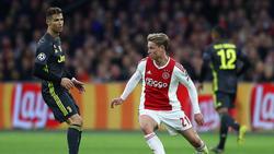 Will mit Ajax gegen Juve für die nächste Sensation sorgen: Frenkie de Jong