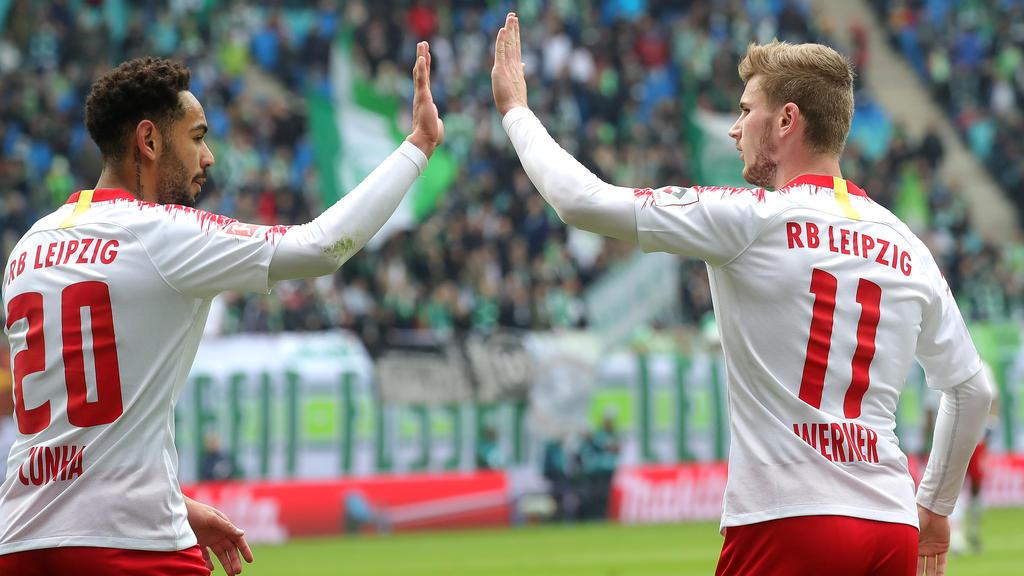 RB Leipzig will Platz drei festigen