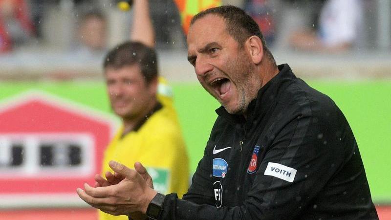 Frank Schmidt ist seit fast zwölf Jahren Trainer des 1. FC Heidenheim