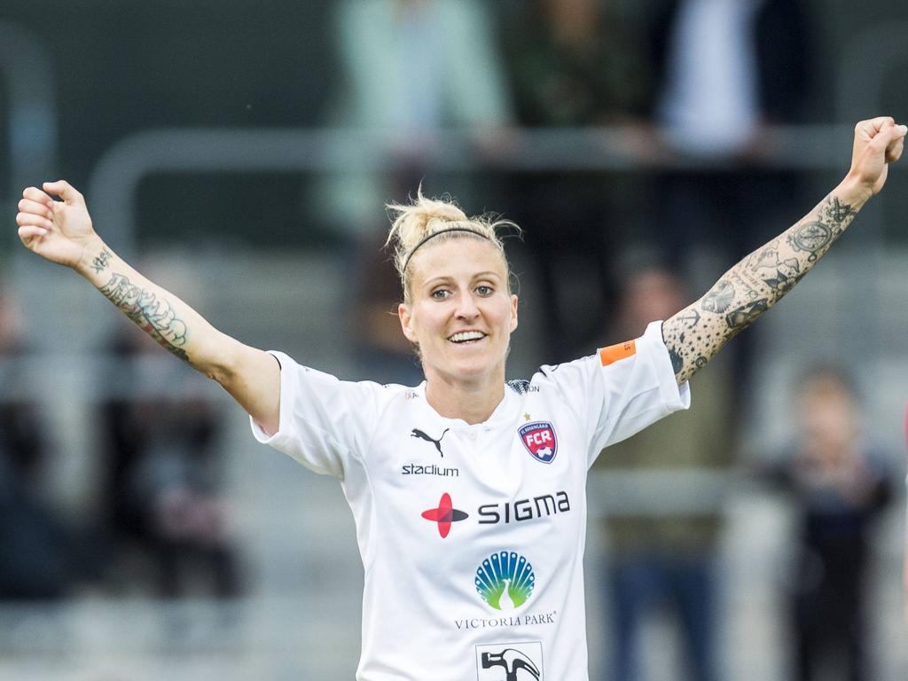 Anja Mittag hat beim FC Rosengård verlängert