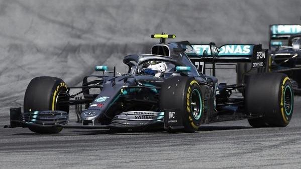 In Spielberg fuhr Mercedes wegen der Kühlprobleme nur hinterher