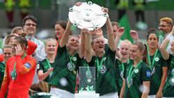 Der Spielerinnen des VfL Wolfsburg feierten letzte Saison die Meisterschaft