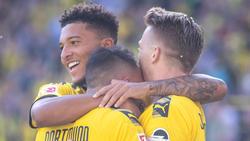 Jadon Sancho fühlt sich beim BVB sehr wohl