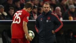 Interimstrainer beim FC Bayern: Hansi Flick