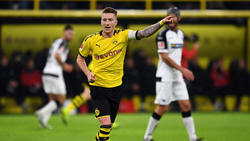MArco Reus rettete dem BVB nach einer blamablen ersten Halbzeit einen Punkt in der Nachspielzeit