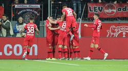 Bayer Leverkusen ist wieder mitten in der Bundesliga-Spitzenruppe