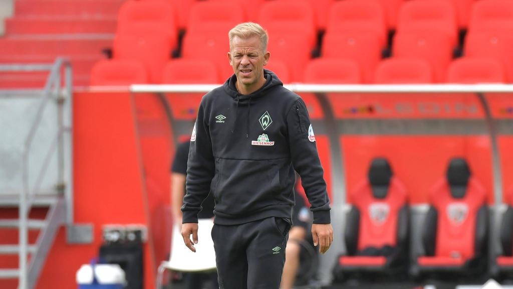 Markus Anfang trifft mit Werder Bremen am Wochenende auf den HSV