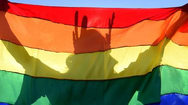 Proteste gegen Homophobie im Fußball